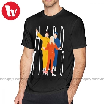 Paramore T Shirt Hard Times T-Shirt 5x Graphic Tee Shirt Cotton Male Cute Beach Short Sleeves Tshirt