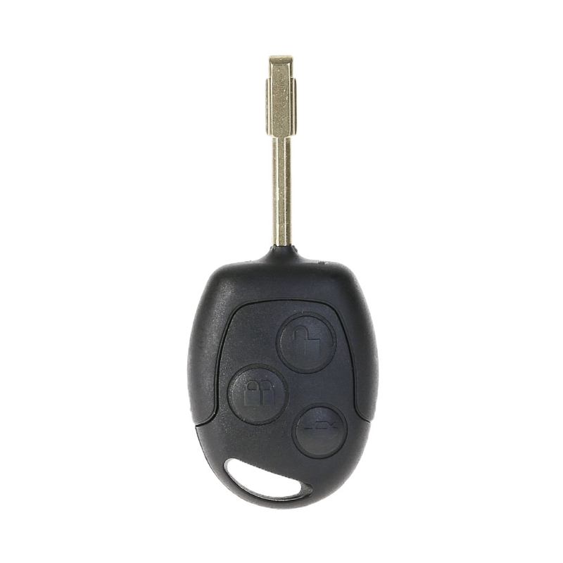 High Quality 1 Pc New Auto Car 433MHZ 4D60 Chip 3 Button Remote Entry Key Fob Case For Ford Mondeo Fiesta Focus-in Key Case for Car from Automobiles & Motorcycles