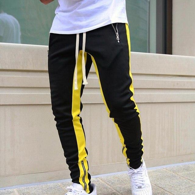 JODIMITTY-pantalones de chándal para hombre, ropa deportiva informal con cremallera, estilo Hip Hop, 2021 5