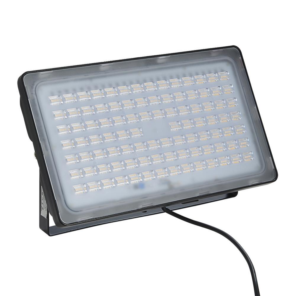 LED Floodlight Reflector Wall Light 300W 220V Outdoor Waterproof Lights For Gym Football Field Garden Yard Warm White