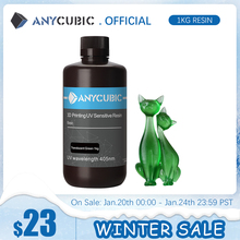 ANYCUBIC 405nm UV Resin For Photon 3D Printer Photon-S Printing Material LCD UV Sensitive Normal 500 ml/1L Liquid Bottle