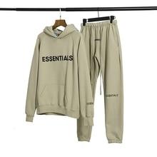 New Matcha Green Hoodie suit Hoodie and sweatpants Kanye West Jerry Lorenzo Loose Jumpers  Hip Hop Matcha Green sweatshirt