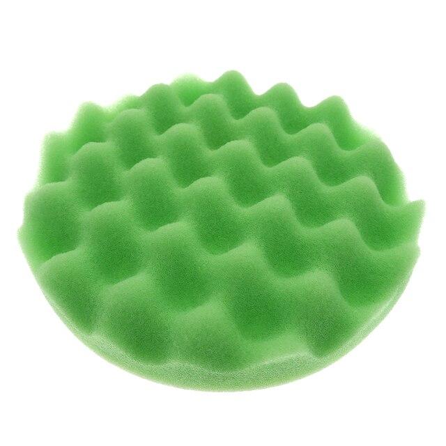 5/6/7 Inch 8Pcs/Set Car Polishing Pads Kit Clean Sponge Waxing Buffing Pad  M14 Thread Wool Ball Auto Backer Pad Car Repair Care 3