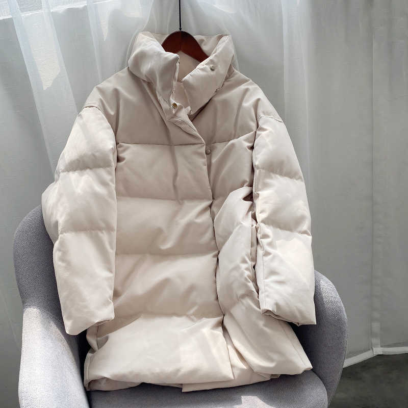 2019 Women Thick Winter Coat Stand Collar Women Jacket Coat Women Oversize Loose Coat Outerwear Female Casaco Feminino Parkas