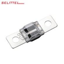 Прозрачный MIDI стиль болт вниз предохранитель 30A 40A 50A 60A 70A 80A 100A 125A 150A/ANS-S предохранитель/автоматический предохранитель/лезвие предохранитель PC(прозрачный)+ PBT(черный