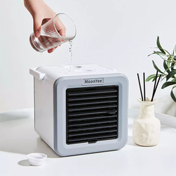 Xiaomi New Portable Cold And Warm Air Machine Silent Four Seasons Two-speed Wind Mini Fan Large Capacity Continuous Cooling