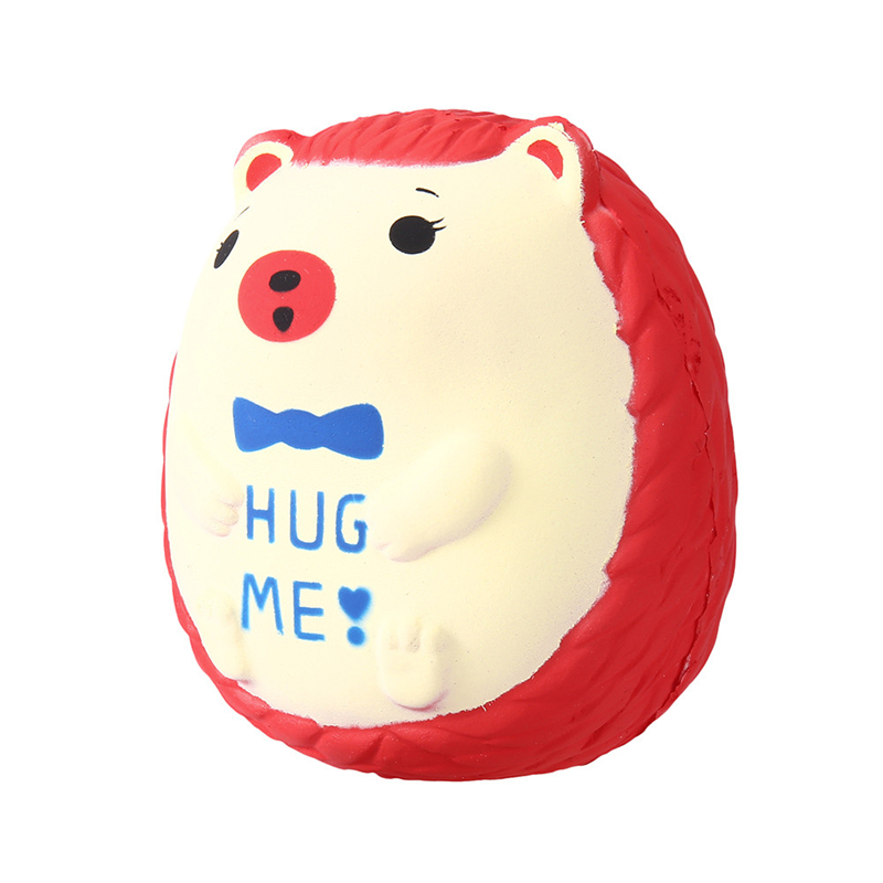 12*11cm Squishy Hedgehog Squichi Kawaii Decompression Toys Cute  Scented Charm Slow Rising Squeeze Stress Reliever Toy  A40