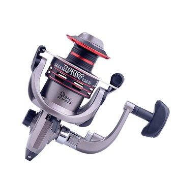 Metal Spool 5.2:1 High Speed Spinning Reel Metal Handle Fishing Reels Carp Fishing Accessories 2-8KG Power TH500-7000