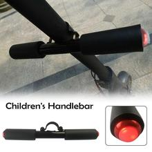 Mounchain Children Electric Scooter Handle Scooter Grips LED Flash Light Hand Lever Holder On For Xiaomi Ninebot ES1 ES2 ES3 ES4 electric scooter silicone handlebar grip handle protective cover for ninebot es1 es2 es3 es4