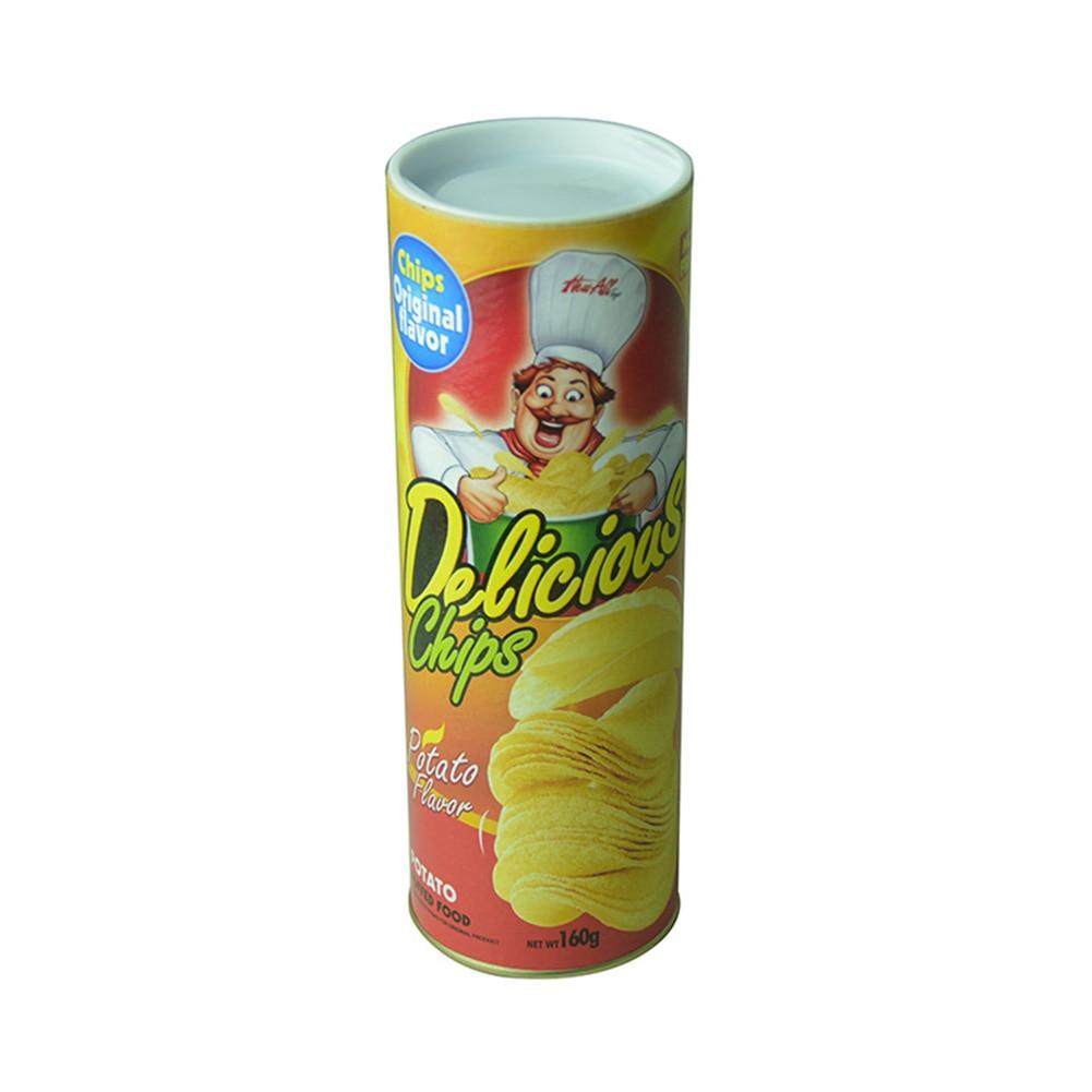 Potato Chips Cans Fake Snake April Fool Day Funny Novelty Prank Trick Toys Potato Chips Cans Fake Snake Kids Toys 2