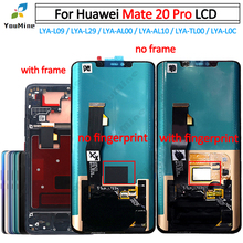 Huawei Mate 20 Pro LCD ekran dokunmatik ekran digitizer LYA L09 LYA L29 çerçeve meclisi ile onarım için Huawei Mate20 pro LCD