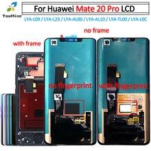 Voor Huawei Mate 20 Pro Lcd Touch Screen Digitizer LYA L09 LYA L29 Met Frame Vergadering Reparatie Huawei Mate20 Pro lcd