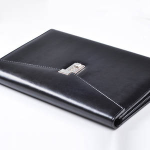 A4 Document File-Folder Office-Manager-Bag Padfolio Briefcase Organzier Fichario PU