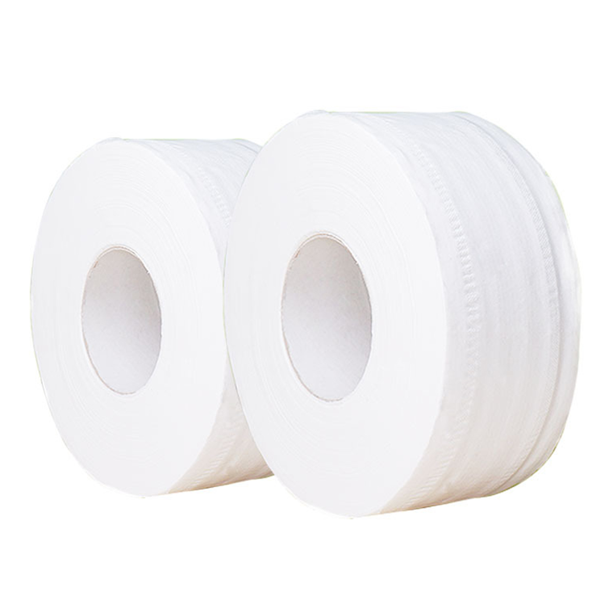 1 Roll Of 8.5inch 450g Toilet Paper Jumbo Roll Toilet Paper 3-ply Wood Pulp Roll Paper No Fluorescent Agent No Harmful Additives