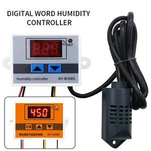 Hygrometer Humidity-Control-Switch Digital XH-W3005 AC110V-220V with 3003 0--99%Rh 24V