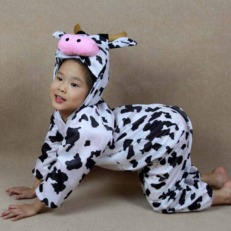Umorden çocuk çocuklar hayvan kostüm Cosplay dinozor kaplan fil cadılar bayramı hayvanlar kostümleri tulum erkek kız için