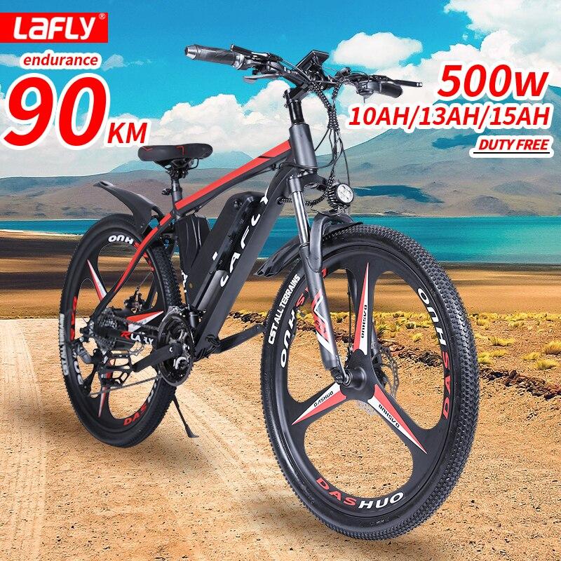 LAFLY 2021 новый электрический велосипед 500W 36V горный велосипед электрический велосипед для взрослых 26 дюймов Байк, способный преодолевать Брод...