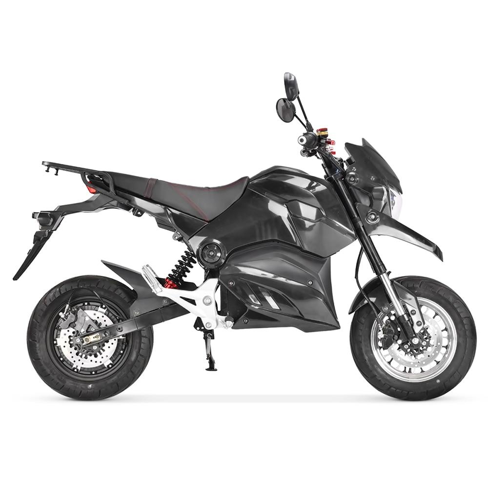 2021EEC электрические скутеры для взрослых, большие колеса, Электрический мотоцикл Citycoco Scoote, 72 в, 20 Ач, аккумулятор, Электрический скутер, 2000 Вт, ...