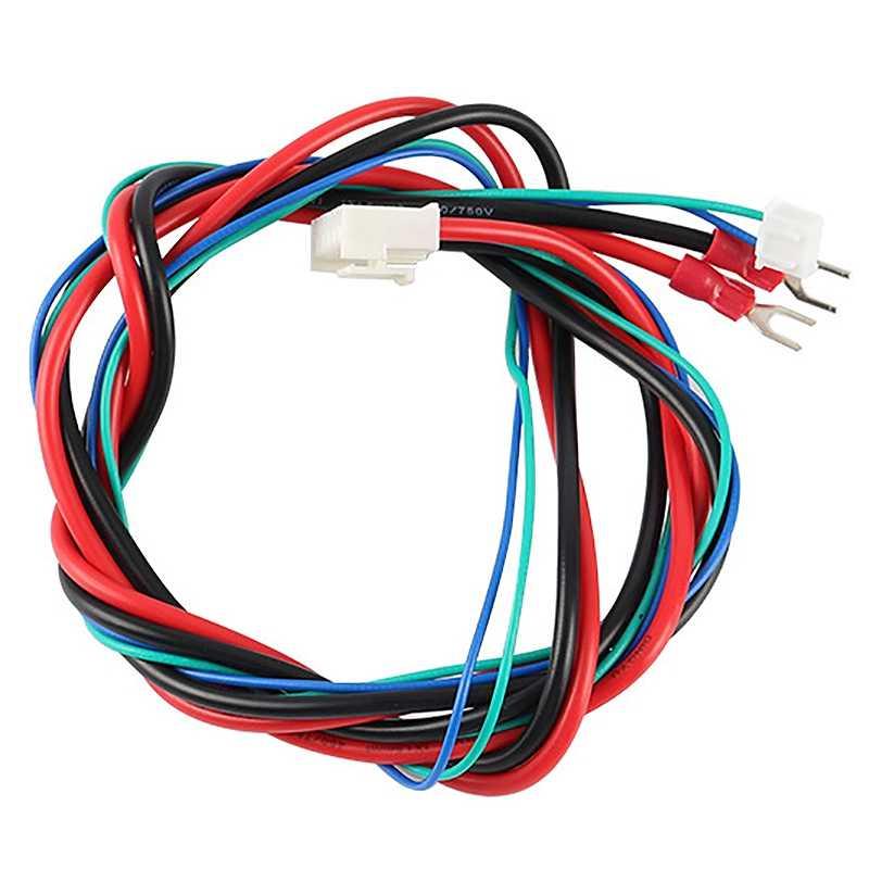 להחליף Anet A6/A8 חממה מיטת קו/כבל משודרג MK2A/MK2B/MK3 עבור מנדל I3 Anet a8 3D מדפסת מחומם מיטה כבל