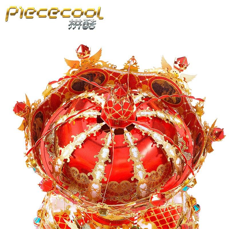 MMZ modèle morceau 3D métal puzzle joyeux aller rond boîte à musique assemblage modèle bricolage 3D Laser coupe modèle puzzle jouets cadeau pour adulte - 4
