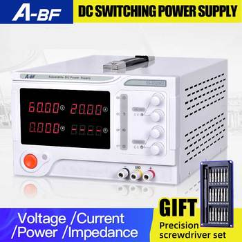 A-BF Adjustable DC Regulated Switching Laboratory Power Supply Four Digit Display 10A 20A 30A 50A Voltage Power Regulator wanptek kps602d professional switching dc power supply adjustable laboratory power supply 110v 220v voltage regulated for lab