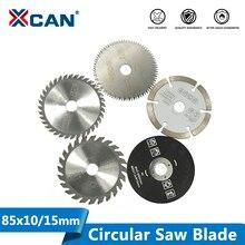 XCAN 85 millimetri Seghe Lama Mini Disco di Taglio per Dremel Utensili Elettrici di Legno Circolare Seghe Lama