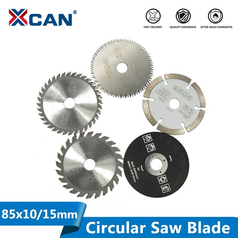 XCAN 85mm Saw Blade Mini Cutting Disc For Dremel Power Tools Wood Circular Saw Blade