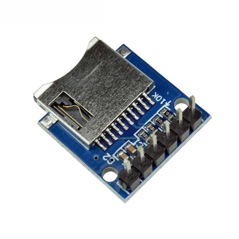Плата расширения для хранения Micro SD 1 шт., защитный модуль карты памяти Mini Micro SD TF с контактами для Arduino