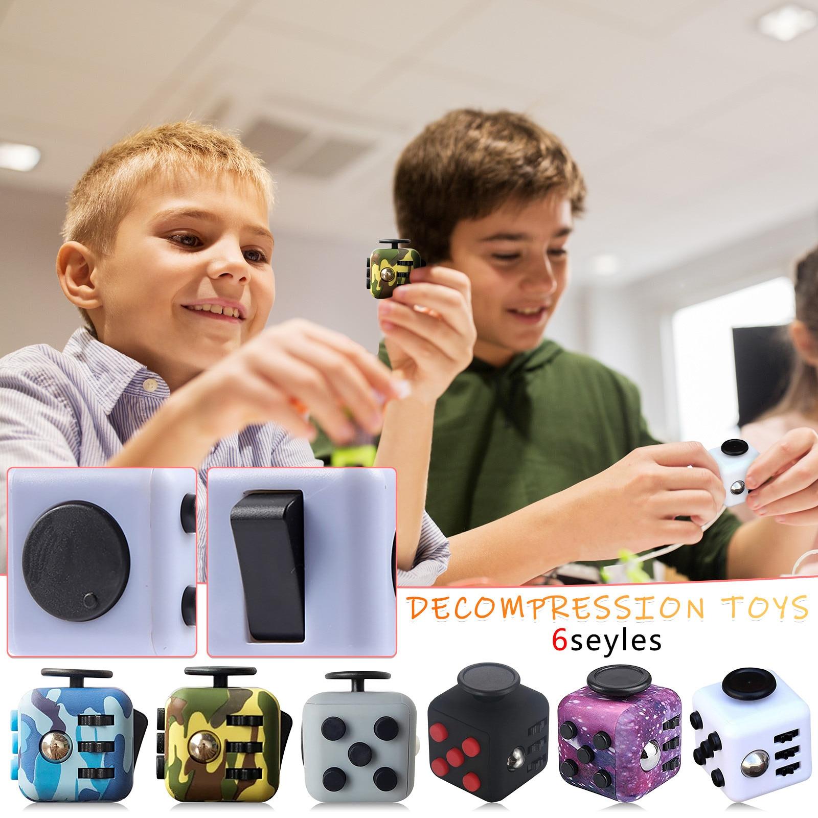 Куб Игрушка антистресс деком Пресс литий-ионный игрушка Пресс Magic стресс снятие стресса De Пресс литий-ионный анти куб для детей для снятия с...