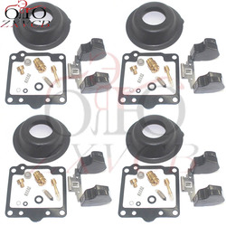 4set for XS1100L 1980-1981 XS1100S XS1100 XS 1100 1100L 1100S Motorcycle carburetor repair kit plunger diaphragm float