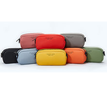 цена на Waist Bags Handbag fashion fanny packs Phone Pouch Belt Chest Hip Sling sports bag waterproof PU Leather sport new yellow black
