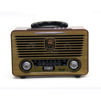 Radio retro Meier M 115BT support playback files from USB flash drive or memory card, as well as in the wireless mode