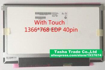 B116XAK01.1 con función táctil 1366*768 interfaz de 40 pines para HP 11V 11-V 11,6 MONTAJE DE PANTALLA TÁCTIL delgada