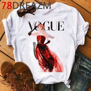 Image 2 - New Vogue Princess Harajuku Graphic T Shirt Women 2020 90s  Kawaii  Ulzzang Cartoon T shirt  Grunge Hip Hop Tops Tees Female