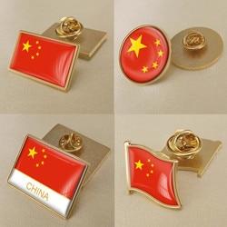 Китай китайская карта брошь в виде флага значки нагрудные знаки