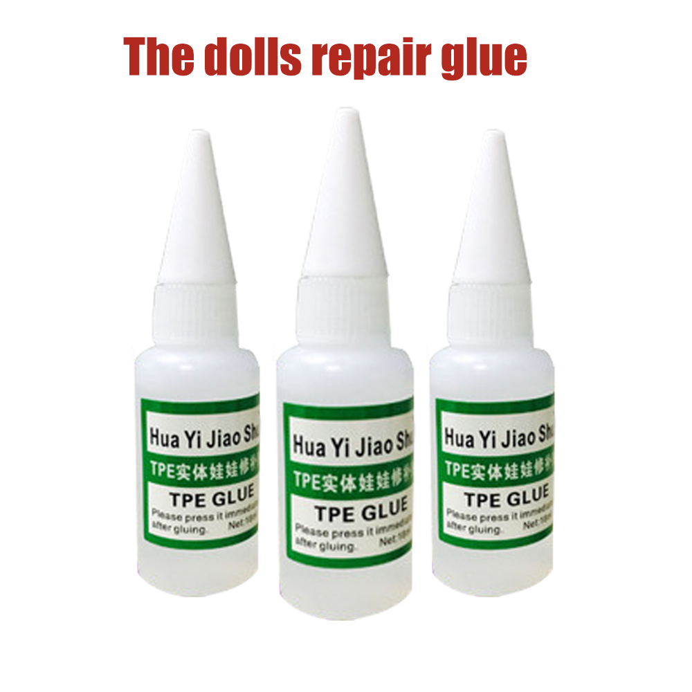 New TPE Sex Doll Repair Kit Glue Of 1 Bottle For Real Love Sexy Silicone Sex Doll Repair Kit Liquid 18ML 1PCS