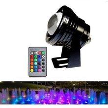 Светодиодный светильник фонтан с дистанционным управлением изменяющий