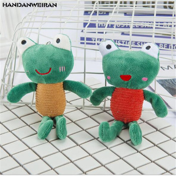 1Pcs New 16CM Holiday Gift Cute Convex Frog Plush Toy Animal Christmas Stuffed For Girls&Boys&Childs HANDANWEIRAN