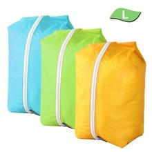 3 шт. Открытый водонепроницаемый плавательный мешок рюкзак сухой мешок многоразового использования, на замке упаковка для хранения Рафтинг Спорт Каякинг дорожная сумка