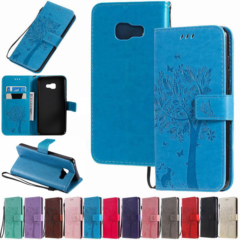 Case For Samsung Galaxy A3 2016 Case Cover Samsung A5 2017 3D Wallet Flip Leather Phone Cases For Samsung A310 A510 A320 A520