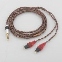 Аудио 44 мм 25 trrs сбалансированный мужской обновленный кабель