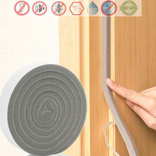 2M Self-adhesive Door Window Sealing Strip Soundproof acoustic foam mousse acoustique burlete puerta casa Weather Stripping