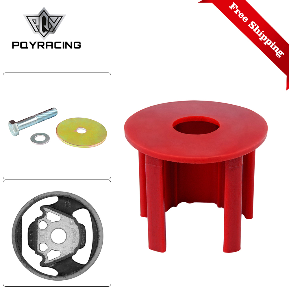 Free Shipping Engineering Dog Bone Engine Mount Insert Kit Street Fits FOR VW CC 09 + 2.0 TSI COLOR RED EMI01