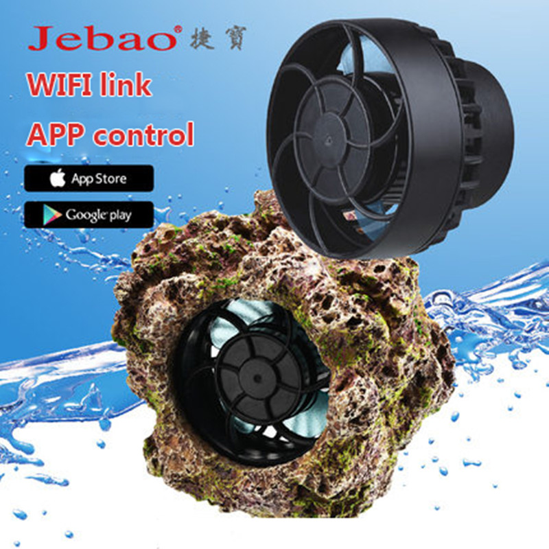 Jebao Aquarium Wave Pump SLW Stream Pump Wifi Link App Control Freshwater Seawater Applicable Adjustable