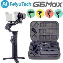 Cardanico palmare Feiyu G6 MAX 3 assi usato per fotocamere Mirrorless/Smartphone/Action cam/fotocamere tascabili, carico utile massimo 2,65 libbre