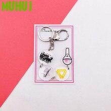 2019 Kpop SEVENTEEN Album String Key Chain Personalized Key Ring Pendant Keyring Women Bag Keychain 19335 недорго, оригинальная цена