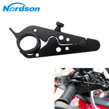 Motorcycle Cruise Control Throttle Lock Assist Universal Retainer Relieve Stress Durable Grip Clamp
