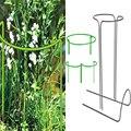 2 шт.  опоры для цветочных растений  полукруглая металлическая рама  профессиональная для сада P7Ding