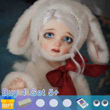 Sekino 1/6 plus Doll BJD dolls movable joint fullset complete professional makeup Fashion Toys for Girls Gifts