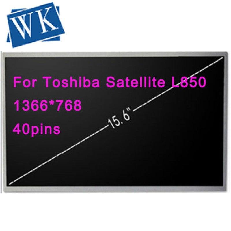 Écran LCD 15.6 LED de haute qualité pour Toshiba Satellite L850 L850D L855 L855D matrice d'affichage HD